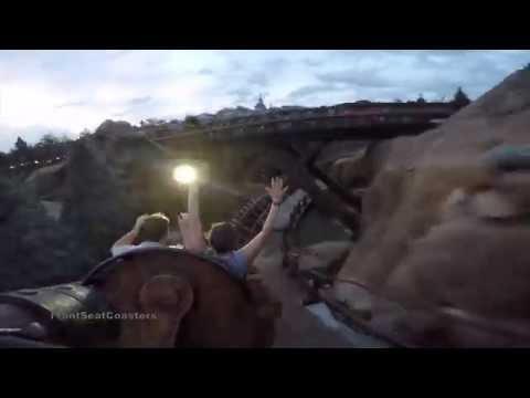 Seven Dwarfs Mine Train coaster POV 4K HD 2nd Car Magic Kingdom Walt Disney World GoPro Orlando