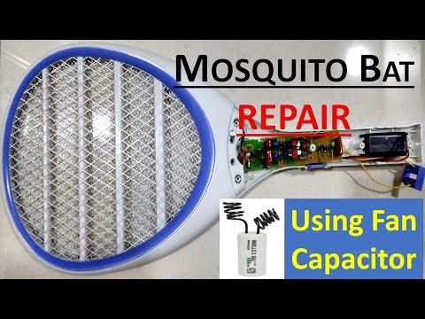 mosquito-killing-bat-repair-using-capacitor-(capacitor-charging-problem)