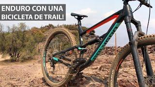 Enduro con una Bicicleta de Trail Aro 29! Polygon Siskiu T8!