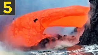 Top 5 Mesmerizing Lava Videos