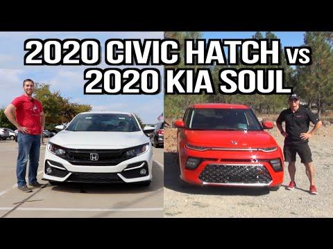 which-one:-2020-honda-civic-hatch-vs-2020-kia-soul-on-everyman-driver