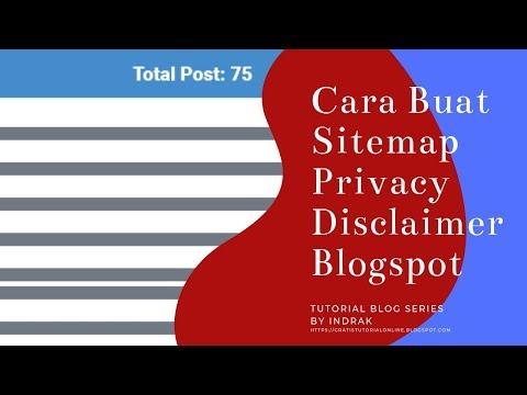 cara-buat-sitemap,-privacy-policy-dan-disclaimer-blog