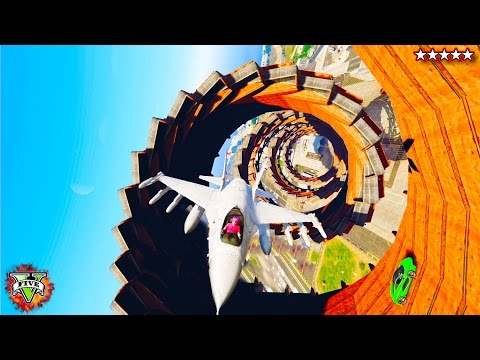 NEW Epic GTA 5 Races, Maps & Stunts LiveStream - Epic GTA 5 WallRides, Jets Stunts  & GameModes