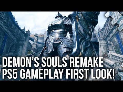 Demon's Souls Remake PS5: Gameplay Trailer Tech Breakdown + First Next-Gen Frame-Rate Analysis!