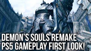 Demon's Souls Remake PS5: Gameplay Trailer Tech Breakdown + First Next-Gen Frame-Rate Analysis!