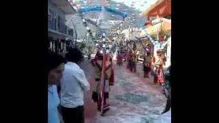 Danza de los santiago de coscomatepec