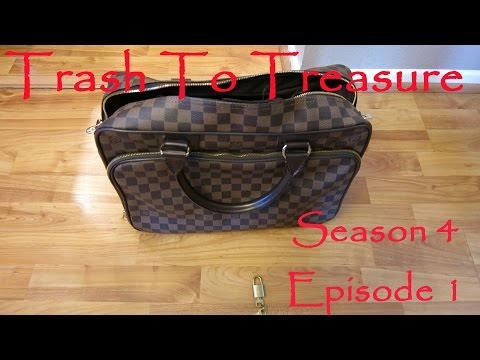 Louis Vuitton Trash Bags trash to treasure season 4 episode 1 - dumpster diving web series