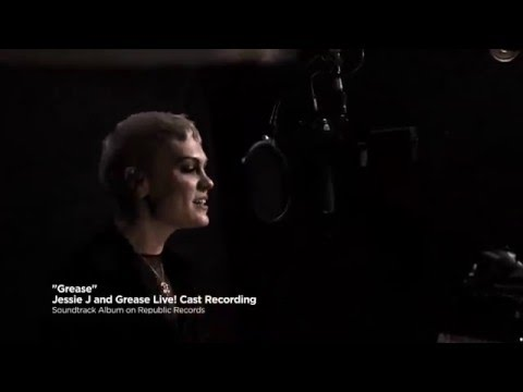 Jessie J - Grease (is the word) | Grease LIVE! (soundtrack recording session)