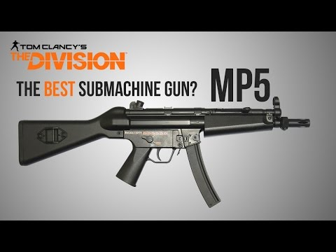 The Division Weapon Guide - MP5 Remake (Statistics, Mods, Talents and Set-Up)
