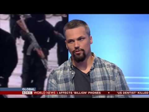 American YPG Fighter Jordan Matson On BBC 29.07.2015
