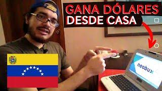 PAGINAS PARA GANAR DOLARES DESDE VENEZUELA