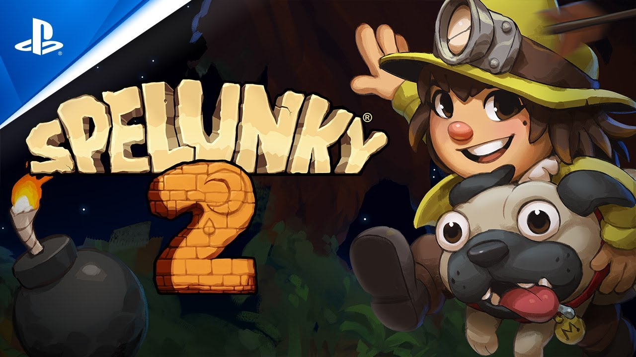 Spelunky 2 - Launch Trailer | PS4