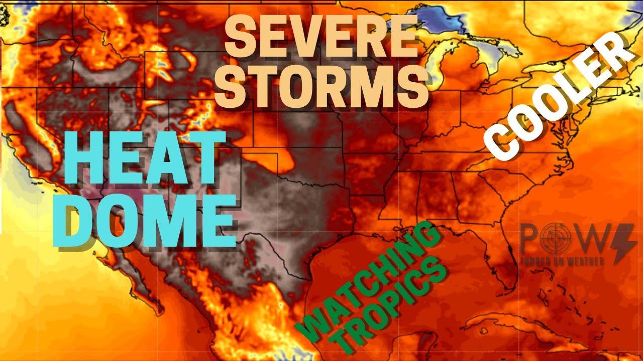 Severe Weather & Flooding Rains! Heat Wave Expands! POW Weather Channel