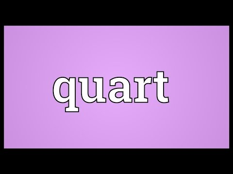 Quart Meaning