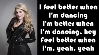 Video Meghan Trainor   Better when I'm dancing' LYRICS download MP3, 3GP, MP4, WEBM, AVI, FLV April 2018