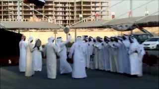 Great artisits perfornming Local Traditional Dance music in celebrations of  UAE National Day