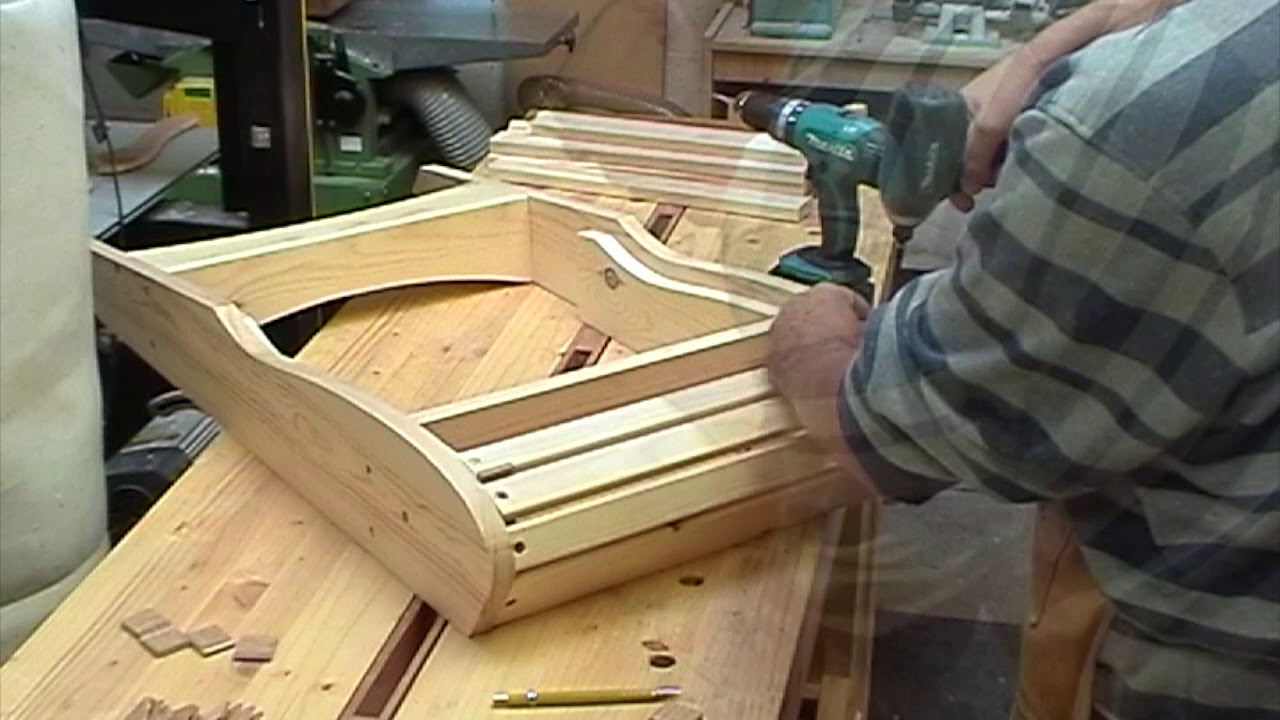 Adirondack Chair Plan Clear Perspex Dining Chairs Folding Build Using Veritas Plans Youtube