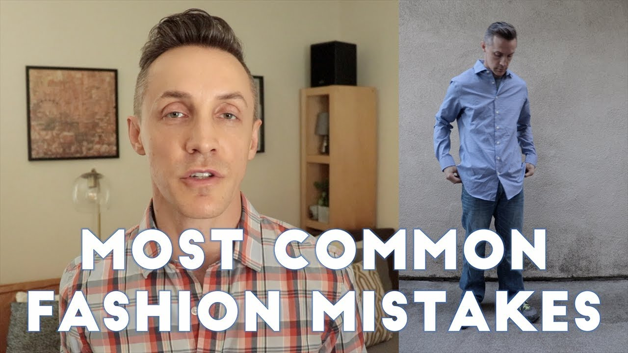 c8e8f784d5b49 TOP 16 Style MISTAKES Men Make and How To Fix Them - YouTube