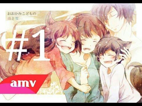 Ookami kodomo no ame to yuki   AMV #1