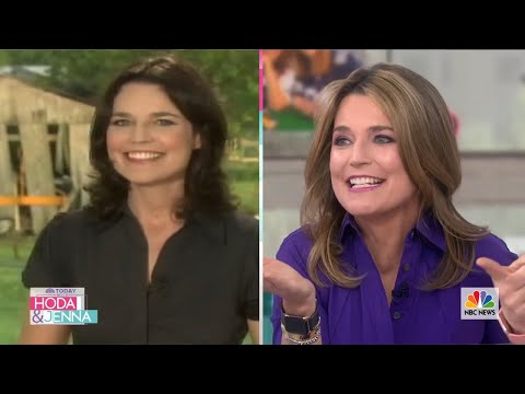Watch Savannah Guthrie Report On Jenna Bush Hager's Wedding In 2008 | TODAY