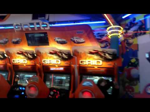 Uk arcade tour Weymouth electric palace amusement arcade 2016