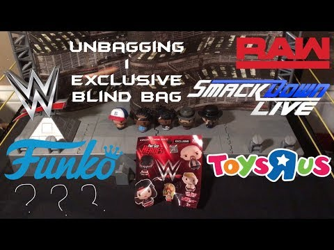 My WWE Figures:1 ToysRUs Exclusive Pint Size Hero Blind Bag From Funko