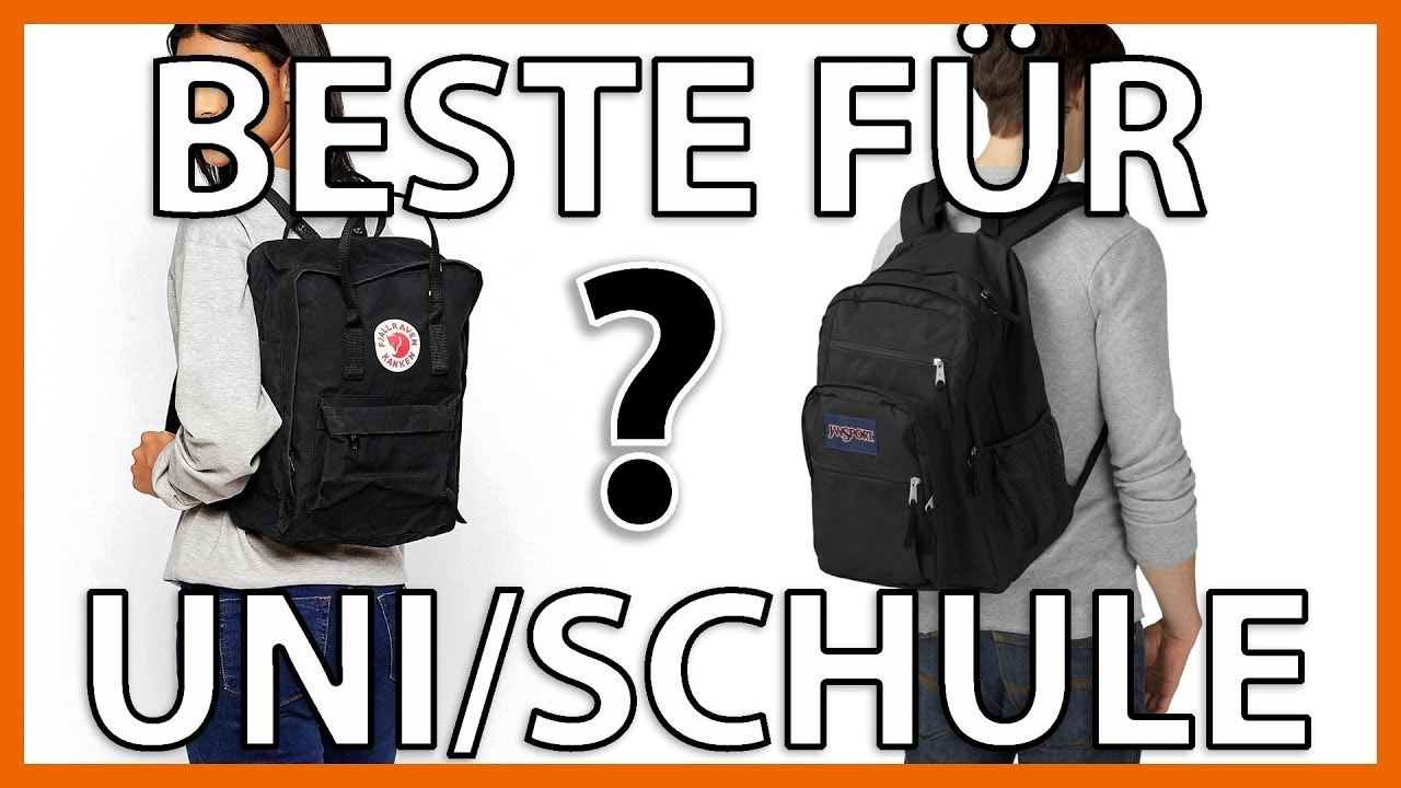 die besten taschen f r schule uni meine top 3 youtube. Black Bedroom Furniture Sets. Home Design Ideas