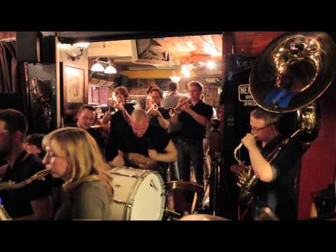 Mardi Gras in New Orleans - NEON SAINTS Brass Band