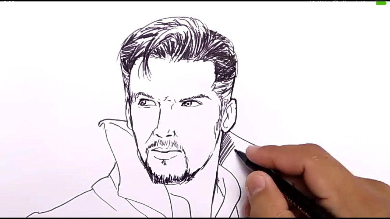 How To Draw Dr Strange Gemma Mcculloch By Cartoonblock