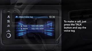 Honda HR-V: How to Make and Receive Calls with  Bluetooth®  HandsFreeLink®: Display Audio Models