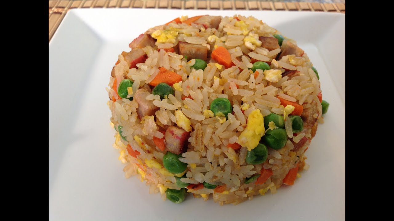Pork Fried Rice Recipe-How To Make Pork Fried Rice-Asian Food Recipes ...