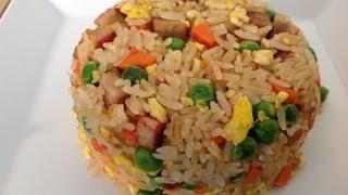 Pork Fried Rice Recipe-how To Make Pork Fried Rice-asian Food Recipes