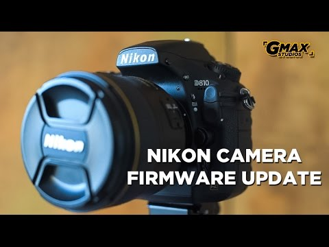 Nikon firmware update | How to do it for all models | What is firmware
