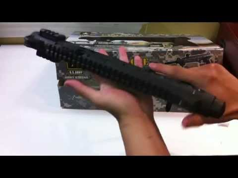 Us Army Carver One .68 Paintball Gun Unboxing