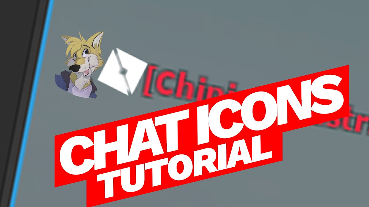Custom Icons Roblox Add Custom Player Icons To Chat Roblox Tutorial Youtube