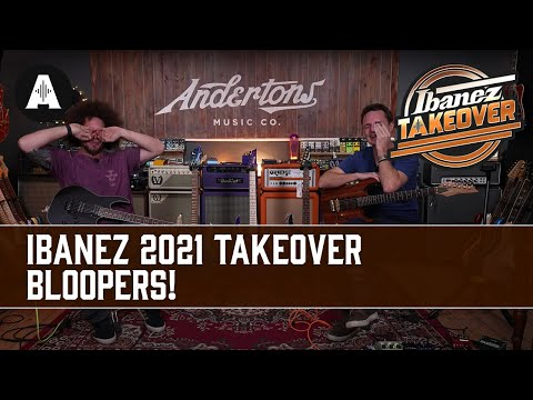 11 Videos Over 2 Days... What Could Possibly Go Wrong? - Ibanez 2021 Bloopers