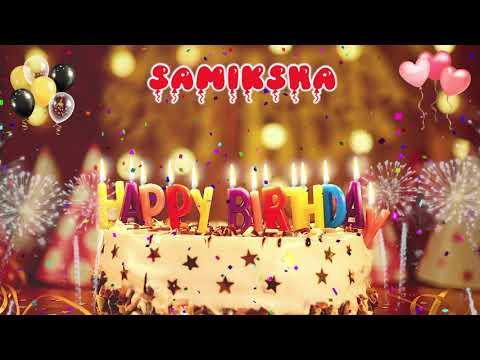 Download SAMIKSHA Happy Birthday Song – Happy Birthday Samiksha