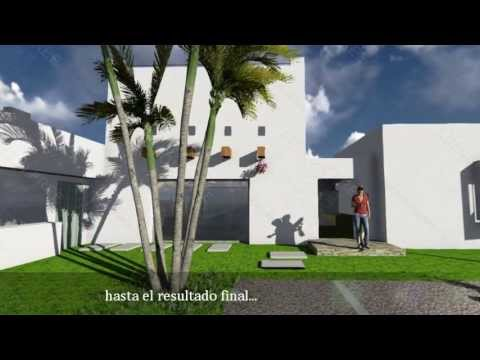 Casas de dise o moderno y minimalista youtube - Casas modulares diseno moderno ...