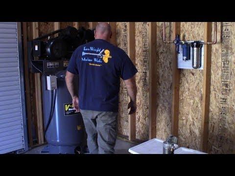 Shop Update #2 Cabinets & Air Compressor