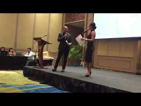 Abby Borja Hosting For Fujixerox Channel Partners Conference