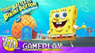 Spongebob Squarepants Battle For Bikini Bottom: REHYDRATED! - XXLGAMEPLAY