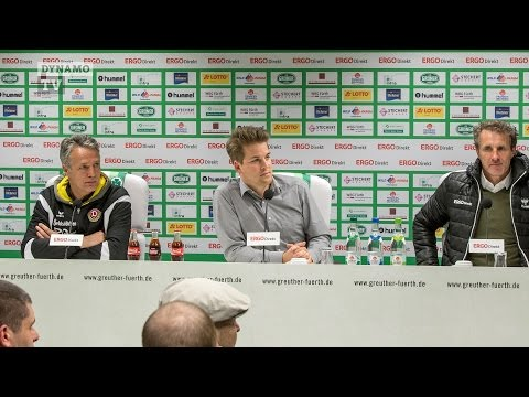 30. Spieltag | SGF - SGD | Pressekonferenz nach dem Spiel