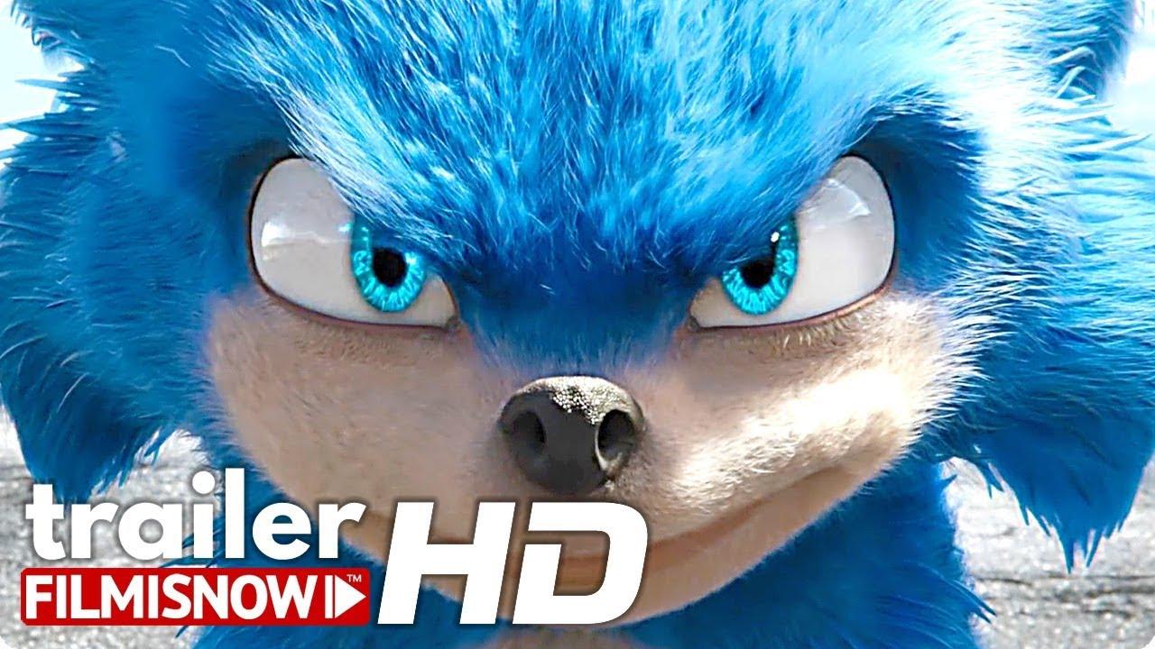 Sonic The Hedgehog Trailer 2019 James Marsden Jim
