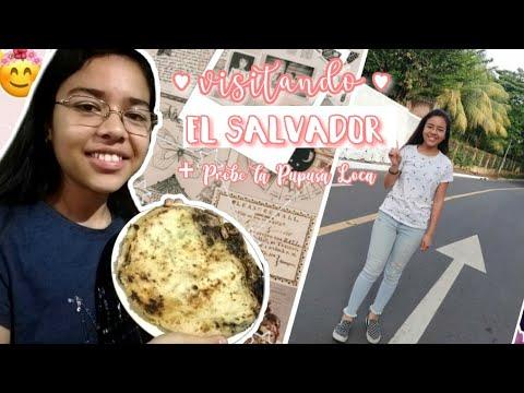 Visitando El Salvador + Probé La PUPUSA LOCA 🇸🇻💕