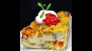 Easy Sausage Strata Www.lmakla.com