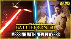 Battlefront 2 Lightsaber Dueling New Christmas Players Hero Showdown Gameplay