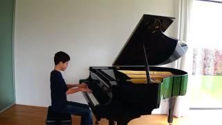 J.S.Bach BWV 902 prelude en fughetta