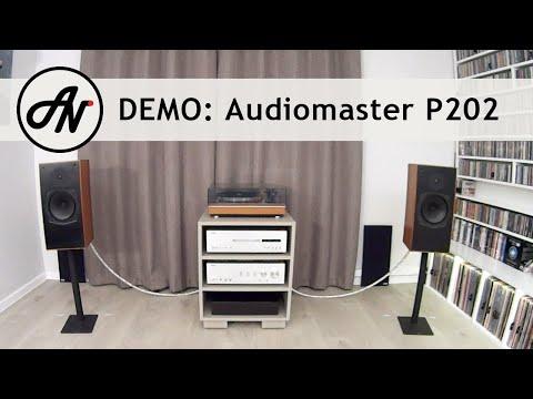 Audiomaster P202 - 1981 Monitor Speakers