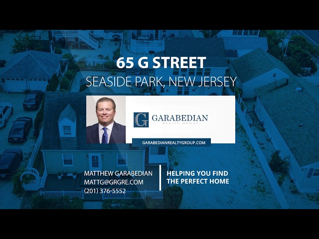 65 G Street, Seaside Park, NJ   39695341 zpid
