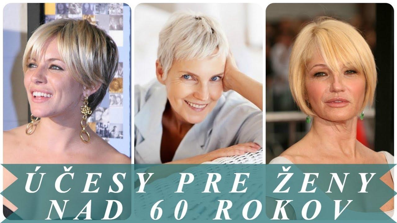 75515420fefc Najkrajšie účesy krátke vlasy pre ženy nad 60 rokov 2018 - YouTube